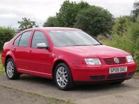 !!HIGHLINE!! 2005 VW BORA 1.6S / 12 MONTHS MOT+TIMING BELT REPLACED / FULL LEATHER / SERVICE HISTORY