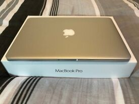 MacBook Pro with Retina display 2.7GHz Intel Core i5 16GB RAM, 256GB Flash storage Early 2015