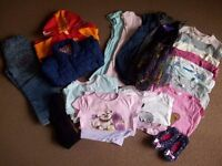 Bundle of Girl's Clothes - 3-4 years