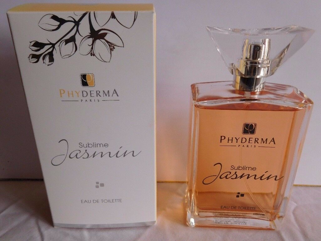 PHYDERMA PARIS SUBLIME JASMIN EDT 100ML NEW IN BOX
