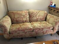 Sofa and two armchairs