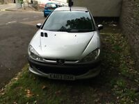 Pug 206 new mot many new parts bargain drive away.