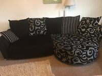 DFS swirl Corner sofa - Delivery possible too