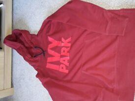 Ladies ivy Park hoodie size xxs
