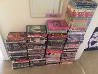 Job lot of DVDs (mixed)