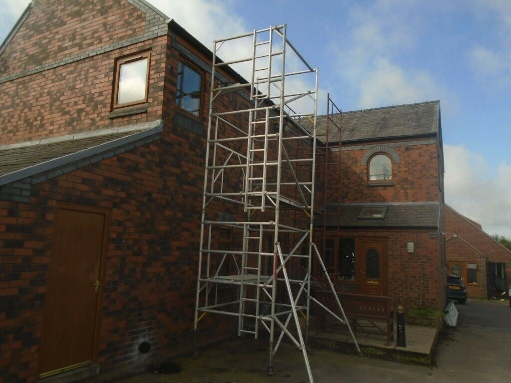 Boss Scaffold Tower 6 5m Working In Heywood Manchester
