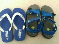 Next sandles flip flops great condition