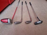 Dunlop Golf Clubs - Driver / 7 Iron / PW / Putter