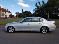 2007 BMW 530 turbo diesel, super smooth automatic, 230+ bhp, long mot