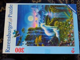 300 pcs puzzle, Unicorn