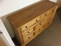 Sideboard or bedroom draws unit
