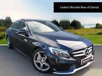 Mercedes-Benz C Class C250 D AMG LINE PREMIUM PLUS (blue) 2015-11-30
