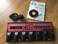 Boss RC50 pedal looper