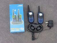 Uniden 2 handset walkie talkie