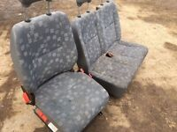 Mercedes sprinter 2000-2006 year interior seats front and passenger