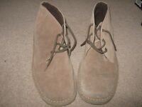 Mens Desert Boots by Cotton Traders, size 10