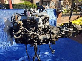 Toyota Hilux/Land Cruiser/Hiace 2.4 Diesel engine with manual 4x4 Gearbox.