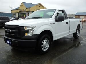 2016 Ford F-150 XL RegCab 4X4 8ft Box