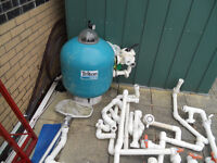 ###SAND FILTER AND ACCESSORIES FOR OUTDOOR SWIMMING POOL ######