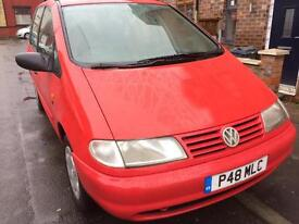 VW sharan tdi 7 seater need attention on Brakes may swap or part exchange £399