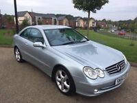 Mercedes CLK 180k Coupe Auto Low Mileage 48k Warranted FSH 8 Stamps Leather Park Assist PX Welcome