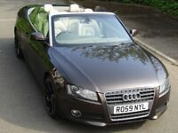 Flawless!!! Audi A5 2.0T convertible (limited edition) TFSI SE, special brown with full leathers