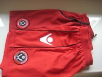 2 PAIRS SHEFFIELD UNITED F.C. SHORTS - 12-13YRS - (Kirkby in Ashfield)..