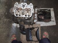 Fiat 126 aircooled twin engine.