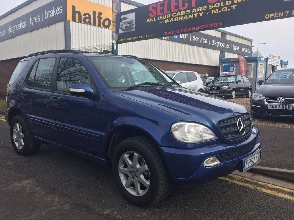 Mercedes Ml 270 52 Plate 2 7 Cdi Alloys Full Leather Interior