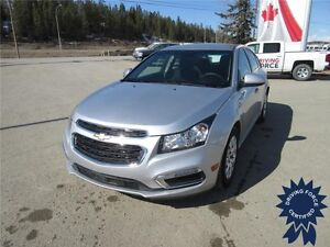 2015 Chevrolet Cruze 1LT Front Wheel Drive - 48,815 KMs, Seats 5