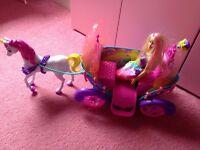 Barbie Dreamtopia Carriage Set