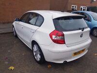BMW 1 series 1.6i White