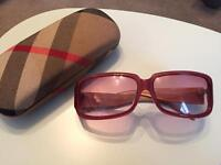 Burberry Womans Sunglasses Used