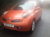 Nissan Micra 2004 1.2 16v 10 months MOT Cheapest Car