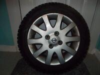 Nissan (Almera) Alloy (Wheel & Tyre) (205/55 R16)