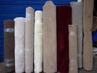 9 pcs new carpet sold as a bundle. Most are 4mtrs in length and from 1.5mtre wide.