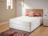 Brand new double divan bed and orthopedic mattress