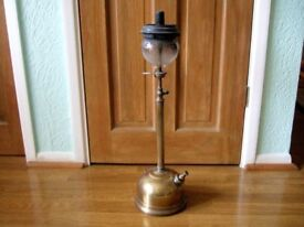 Vintage Tilley Lamp with two Globes