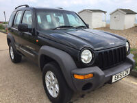 JEEP CHEROKEE SPORT 2.5CRD 2002model Nice Example In Good Condition MOT May 2018