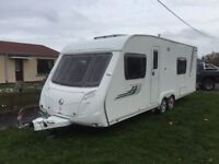 Swift charisma 2009 4berth twin axle fixed bed Moter mover full awning built in satellite and receiv