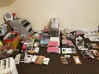 joblot iphone, samsung, covers cases, protectors stock filler, parts