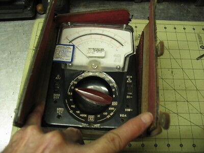 Model 630 Apl Classic Vommultimeter Triplett With Nr Leather Case