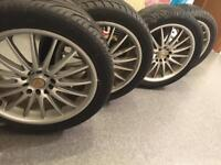 4x17 Alloy wheels and tyres