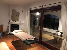 Would you like the luxury of a massage in your own home?