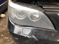 BMW 5 SERIES E60 LCI DRIVERS HALOGEN BREAKING SPARES PARTS CHELMSFORD ESSEX LONDON RETTENDON