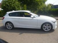 BMW 116i M Sport,1598 cc 3 dr hatchback,FSH,stunning looking car,runs and drives very well,only 57k