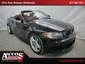 2010 BMW 135 i M PACK + + CUIR ROUGE + MAGS 18