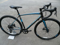 Raleigh Mustang Elite Gravel Cyclocross Bike Brand New Hydraulic Brakes 1x11