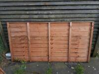 fence panel 6 X3 ft