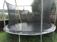 12ft trampoline for sale in very good condition